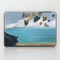 baloon iPad Cases featuring Butterfly Baloon by ArtSchool