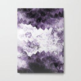 Mountains through the cave Metal Print