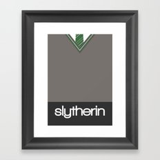 Slytherin Framed Art Print