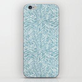 lighting pattern iPhone Skin