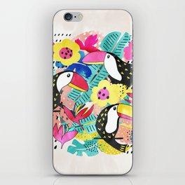 Tropical Tucan iPhone Skin