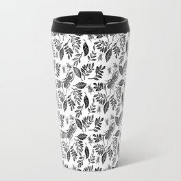 beetles and leaves Travel Mug