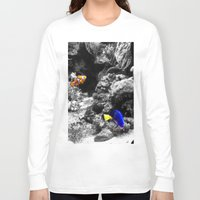 nemo Long Sleeve T-shirts featuring Nemo and Dora by Efua Boakye