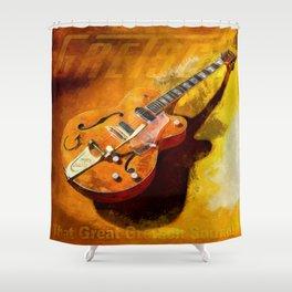 That Great Greeeetsch Sound Shower Curtain