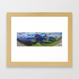 Going to the Sun Road, Glacier National Park 2 Framed Art Print