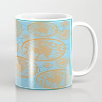 marine Mugs featuring marine by Maritserg
