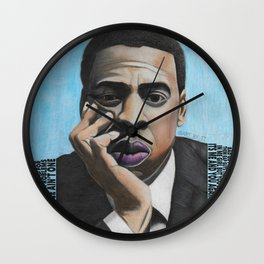 Jay Z Blue Wall Clock