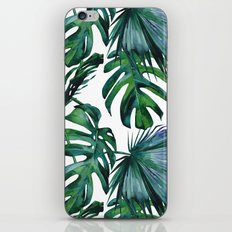 Tropical Palm Leaves Classic iPhone Skin