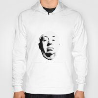 hitchcock Hoodies featuring Alfred Hitchcock by bonieiji