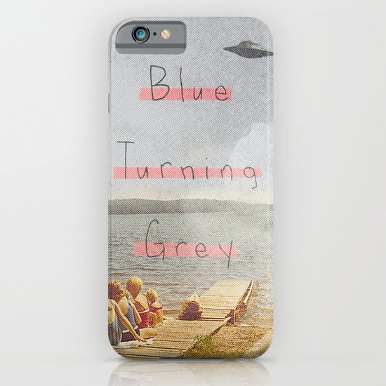 Blue Turning Grey | Collage iPhone & iPod Case