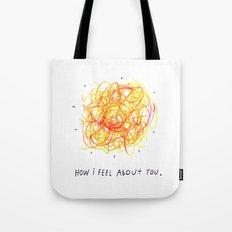 Feelings Ball Tote Bag