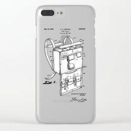 patent art Campiglia First Aid kit 1942 Clear iPhone Case