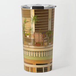Balcony View in Cuba Travel Mug