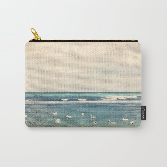 Swan Sea Carry-All Pouch