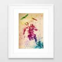 assassins creed Framed Art Prints featuring Assassins Creed III by Robert William Smith