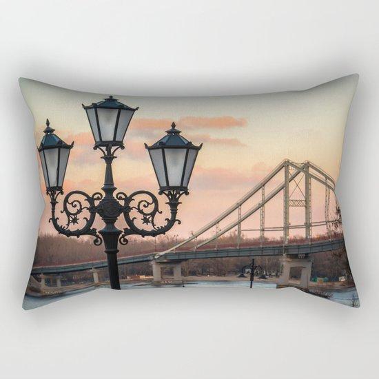Street lamp Rectangular Pillow