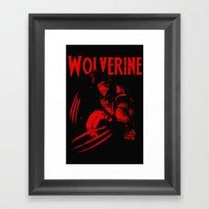 theWOLVERINE Framed Art Print