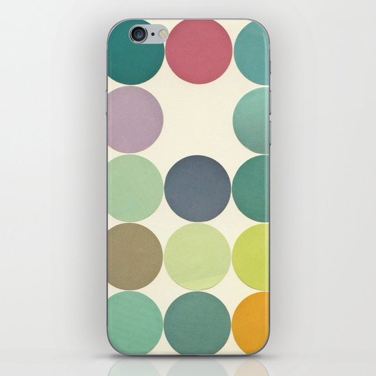 Circles I iPhone & iPod Skin