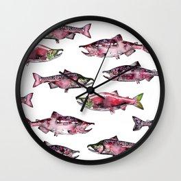 Here Fishy Fishy Wall Clock