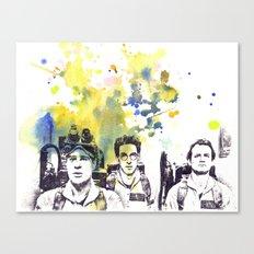 Ghostbusters Peter Venkman, Egon Spengler, Raymond Stantz Canvas Print