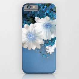 Dreaming of Blue iPhone Case