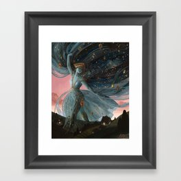 The Veil of Night Framed Art Print