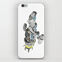 battlestar iPhone & iPod Skins featuring The Serenity by Josh Ln