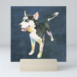 Husky Puppy Mini Art Print