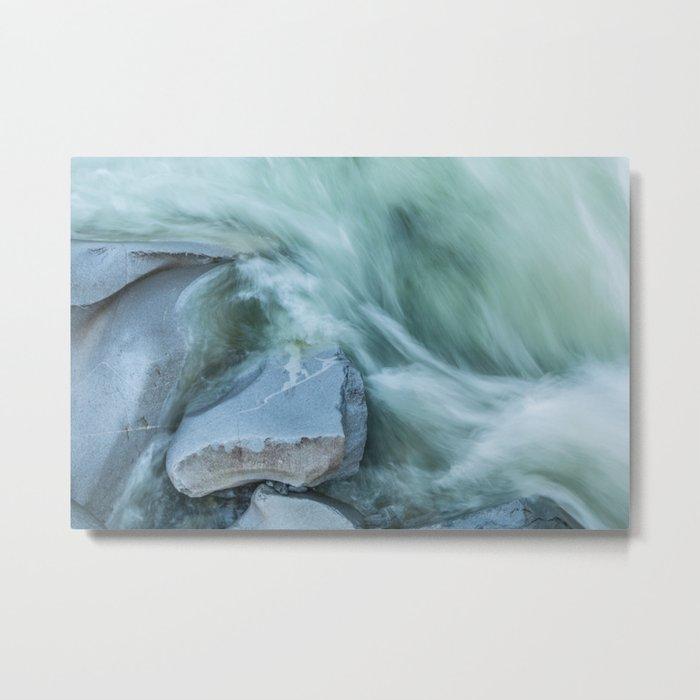 Marble River Run Metal Print