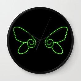 Chibi Faerie Wings Wall Clock