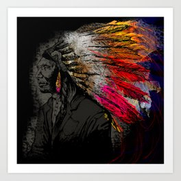 The Chief Art Print