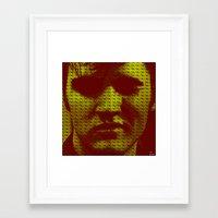 elvis Framed Art Prints featuring Elvis by Joe Ganech