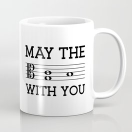 May the 4th be with you (light colors/alto clef) Coffee Mug