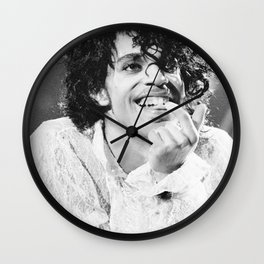 Prince Poster Rogers Nelson Music Wall Clock