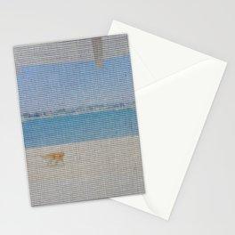 screen door beach Stationery Cards