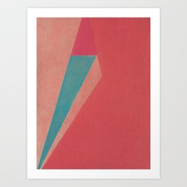 Nudo Due Colori Art Print