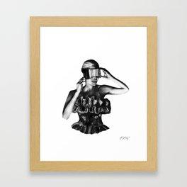 McQueen Framed Art Print