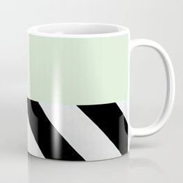 PARALLEL_LINES_GREEN_MINT Coffee Mug