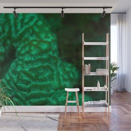 Flourescent mountaintop Wall Mural