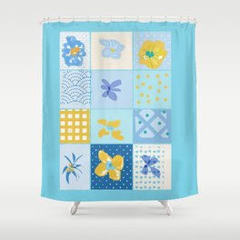 KIM'S DESIGN Shower Curtain