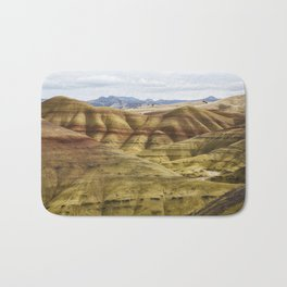 Time in Layers Bath Mat