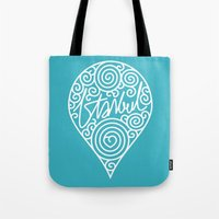 istanbul Tote Bags featuring istanbul by creaziz