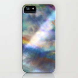 Water and Light iPhone Case