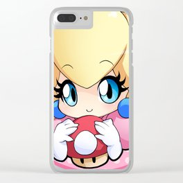 Princess Peach Clear iPhone Case