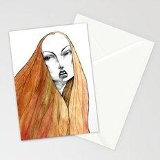 Apple Peel Stationery Cards