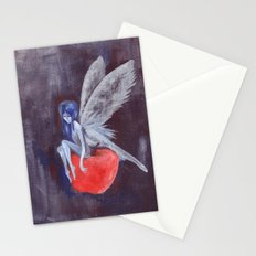 Fairy Loves Apple Stationery Cards