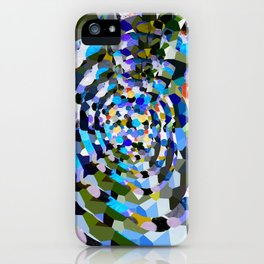 Sky Blue Moon Sapphire Love iPhone Case