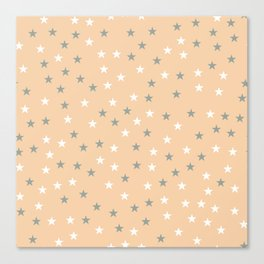 Stars Pattern 4 Canvas Print