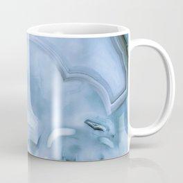 Light Blue Marble Coffee Mug