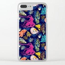 Cephalopods Clear iPhone Case